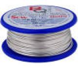 Postříbřené dráty 0,6mm 100g 40m -200÷800°C