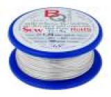 Postříbřené dráty 1,2mm 100g 9,5m -200÷800°C