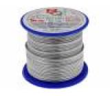 Postříbřené dráty 1,2mm 250g 24,5m -200÷800°C