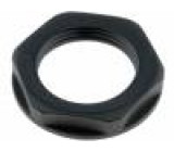 Matice PG16 polyamid UL94V-2 30mm černá -20÷100°C V: s límcem