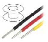 Kabel UL1007,UL1569,VW-1 drát Cu 20AWG zelená PVC 300V 305m