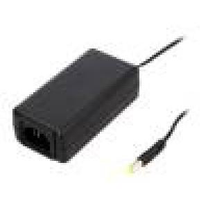 Zdroj spínaný 24VDC 1,5A Výv:5,5/2,1 36W 0÷40°C Vst: IEC C14