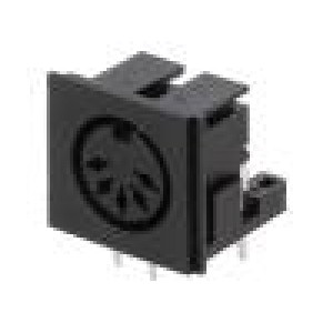 Zásuvka DIN zásuvka PIN:5 Uspořádání výv:180° úhlové 90°