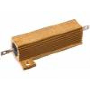 Rezistor: drátový s chladičem přišroubováním 120Ω 50W ±1%