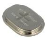 Akum: Ni-MH V500H,knoflíkové 1,2V 500mAh 34x24x6,15mm