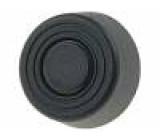 Nožička pro rychlou montáž černá polyetylén A:6mm B:14mm