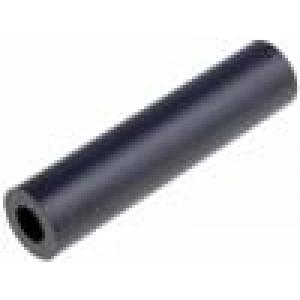 Distanční sloupek válcový polyamid Dl:30mm Øprům:12mm
