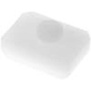Izolační distanční podložka polyamid 1mm barva přírodní