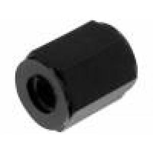 Distanční sloupek se závitem šestihranný polyamid M3 Dl:5mm