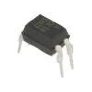 LTV-817 Optočlen THT Kanály:1 Výst: tranzistorový Uizol:5kV Uce:35V