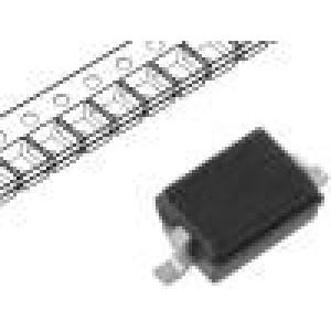 BZX384-B27.115 Dioda: Zenerova 300mW 2V SMD role SOD323 200mA 1,2x0,8x0,6mm
