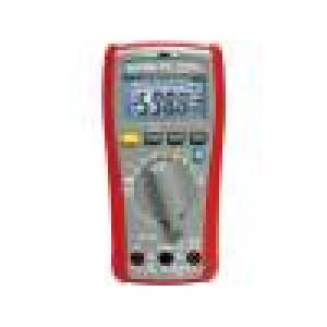 APPA-P3 Číslicový multimetr LED (6000), podsvětlený I DC:6/10A