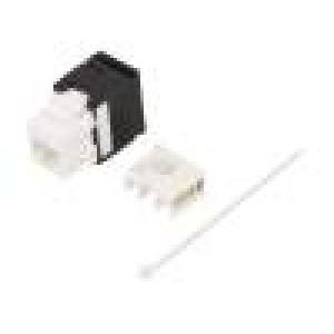Zásuvka RJ45 PIN:8 Kat:6 nestíněné Uspořádání výv:8p8c IDC