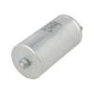Kondenzátor polypropylénový 25uF ESR:6mΩ šroub M8 ±5% 600VDC