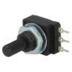 Potenciometr: axiální jednootáčkový 220kΩ 60mW PCB 6mm plast