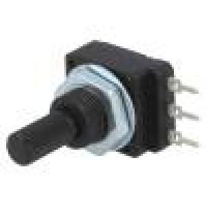 Potenciometr: axiální jednootáčkový 2,2kΩ 60mW PCB 6mm plast