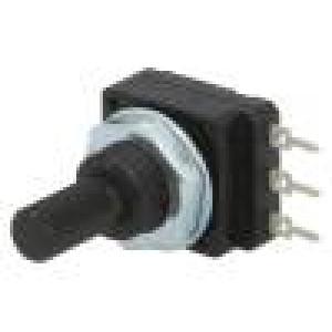 Potenciometr: axiální jednootáčkový 47kΩ 60mW PCB 6mm plast
