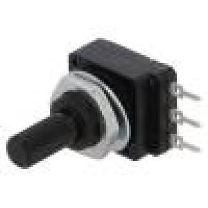 Potenciometr: axiální jednootáčkový 500kΩ 60mW PCB 6mm plast