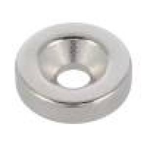 Magnet: konstantní neodymový H:3mm 18N Ø:12mm