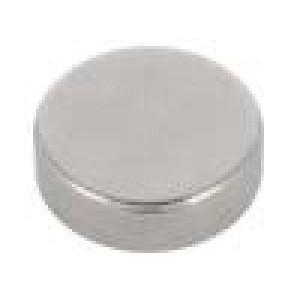 Magnet: konstantní neodymový H:3mm 15N Ø:10mm