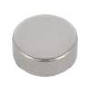 Magnet: konstantní neodymový H:3mm 13N Ø:8mm