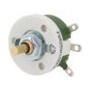 Potenciometr axiální jednootáčkový 100Ω 25W ±10% 6mm drátový