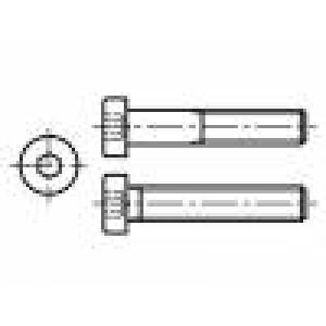 5 Hlava:  Drážka: imbus ocel zinek HEX 2 mm