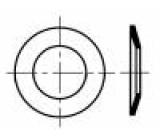 Podložka pérová, kónická M10 D=23mm h=3,2mm pružná ocel