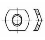 Podložka pérová M3 h=2,5mm pružná ocel Povlak: černěné BN:807
