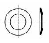 Podložka kónická M5 D=11mm h=1,55mm nerezová ocel A2 BN:2312