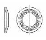 Podložka kónická M6 D=14mm h=2,1mm nerezová ocel A2 BN:2332