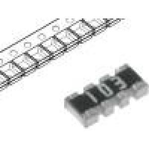 Rezistorová síť: Y 680kΩ SMD 0804 Poč.rezistorů:4 63mW ±5%