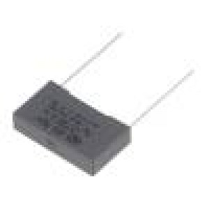 R463N333050N0K Kondenzátor polypropylénový X2 330nF 22,5mm ±10% 26,5x6x15mm