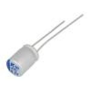 Kondenzátor polymerový A750 470uF 6,3V ESR:18mΩ THT ±20%