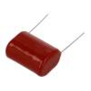 Kondenzátor polypropylénový 100nF 10mm ±5% 12x7,5x12,4mm