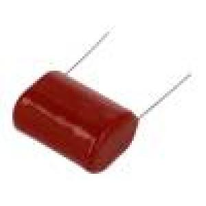 Kondenzátor polypropylénový 220nF 20mm ±5% 22x14,1x22,2mm