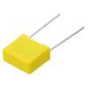 MKP-X2-560NR15/310 Kondenzátor polypropylénový 560nF 15mm ±10% 18x16x10mm