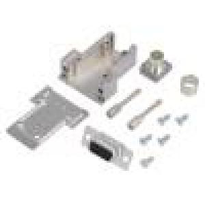 Zástrčka D-Sub PIN:9 zásuvka pájení na kabel