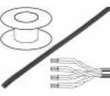 Vodič průmyslový Ethernet, externí U/UTP 5e licna Cu PVC