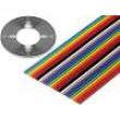 Vodič: plochý kabel 1,27mm licna Cu 10x28AWG nestíněný PVC
