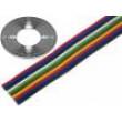 Vodič: plochý kabel licna Cu 10x0,5mm2 PVC 150V
