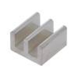 Chladič lisovaný L:10mm W:10mm H:6mm 70K/W hliník