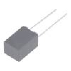 Kondenzátor polypropylénový 1nF 5mm ±5% 7,2x3,5x7,5mm 630VDC