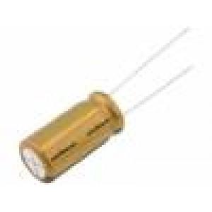 Kondenzátor elektrolytický THT 470uF 10V Ø10x16mm FG 5mm