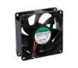 Ventilátor: DC axiální 24VDC 80x80x25mm 101,94m3/h 47,5dBA