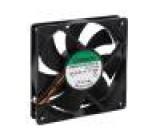 Ventilátor: DC axiální 24VDC 120x120x25mm 254,84m3/h 54dBA
