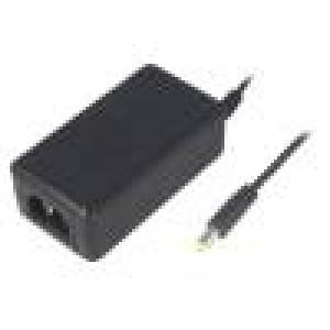 Zdroj: spínaný 12VDC 2,5A Výv:5,5/2,1 30W 0÷40°C Vst: IEC C14