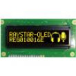 Zobrazovač: OLED grafický 100x16 Rozměry okénka:66x16mm žlutá