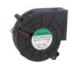 Ventilátor: DC blower 12VDC 97x95x33mm 92,93m3/h 63,2dBA