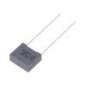 Kondenzátor polypropylénový 4,7nF 10mm ±5% 13x5x11mm 1kVDC